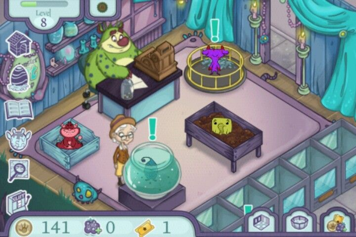 Super Cute Game On Android Monster Pet Shop Game Design Cute Games Pet Shop