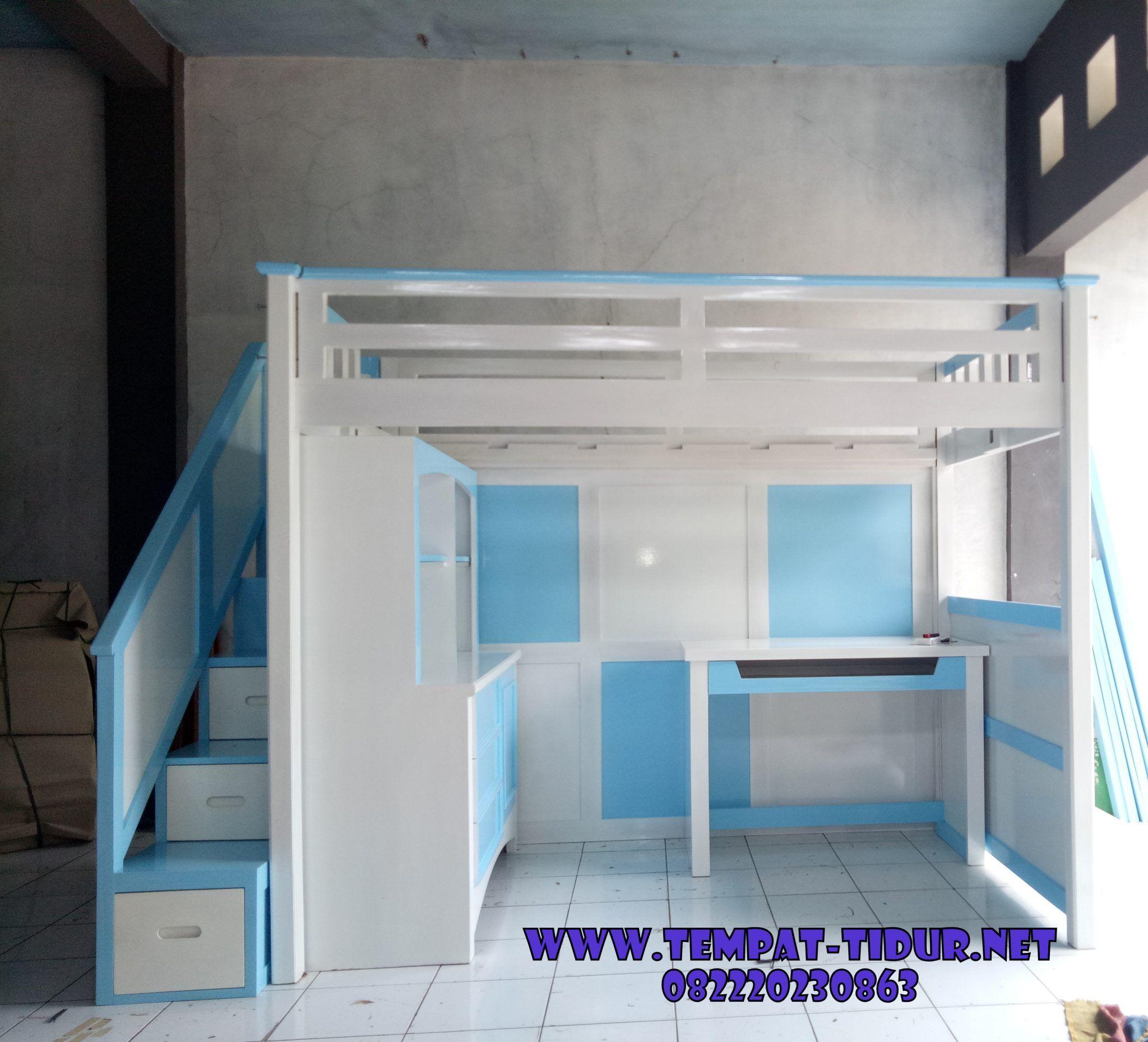 Model Tempat Tidur Plus Lemari Unik In 2021 Minimalist Kids Room Twin Bed Mattress Bunk Bed Mattress