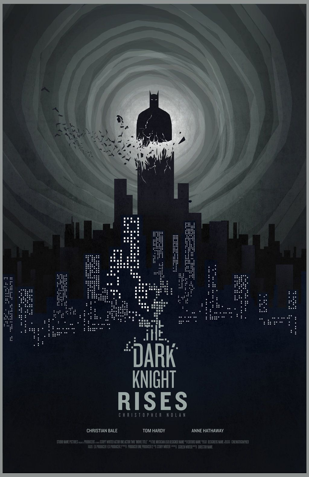 The Dark Knight Rises by Barbeanicolas | Movie & TV Posters ...