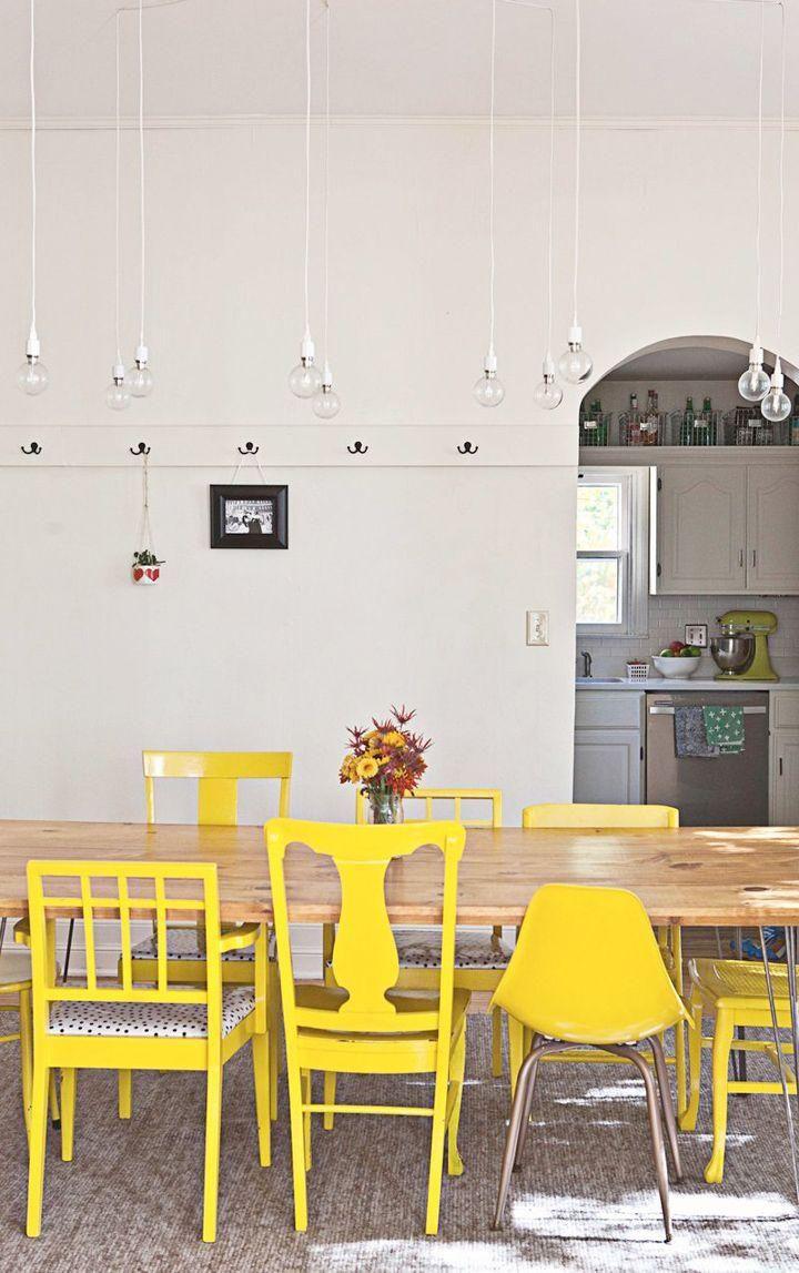 Lustres Simples Para Sala De Jantar Ilumina O Pinterest  -> Fotos De Lustres Simples