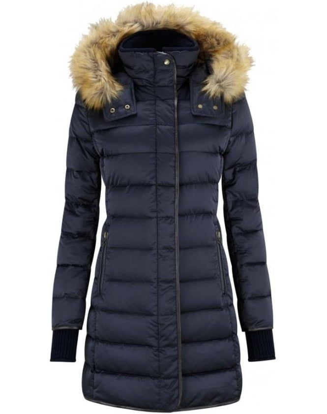 Pin by Cat Aves on Wish List | Pinterest | Fur trim, Navy and Coats