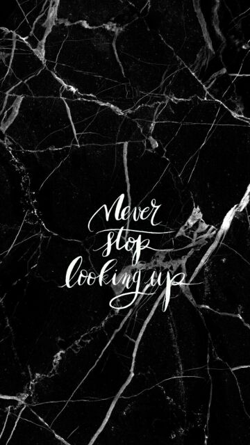 Image Result For Black Tumblr Marble With Quote Never Pinterest