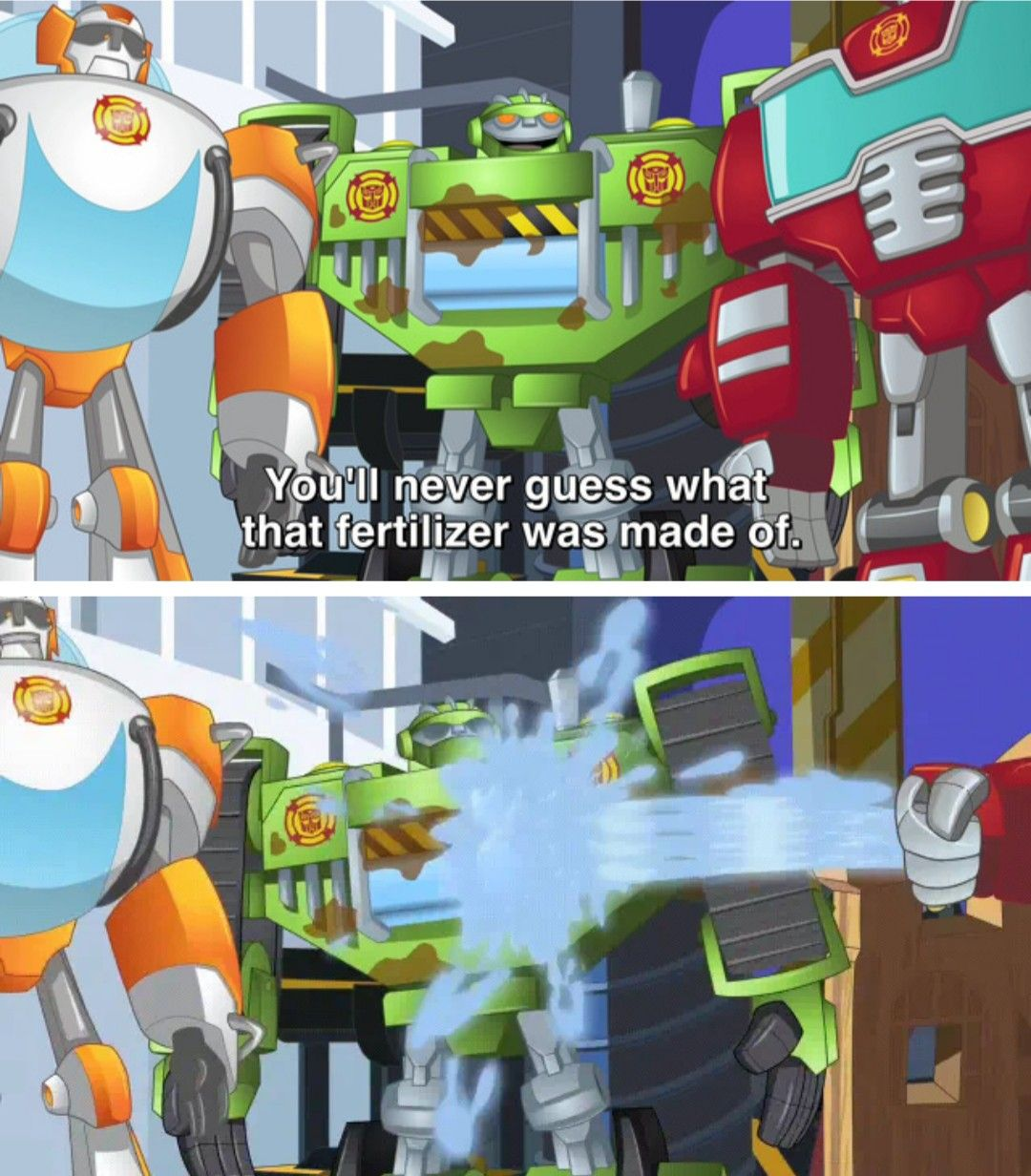 Welp Guess We Ll Never Know Transformers Rescue Bots