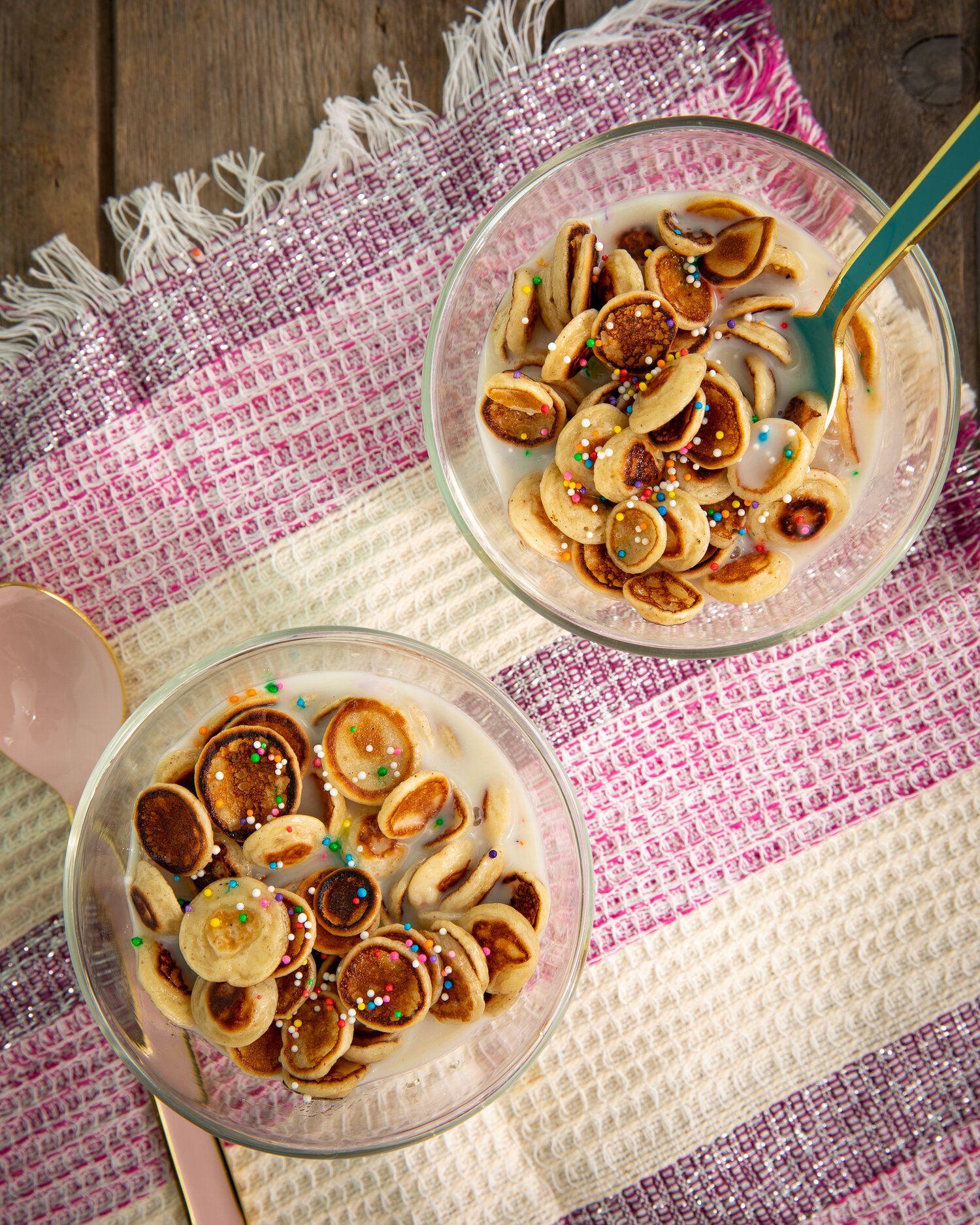 Mini pancakes : la tendance de l'heure sur TikTok #minipancakes #pancakecereal - Hubert Cormier Nutritionniste
