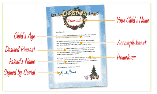 Create A Free Letter From Santa  Christmas    Santa