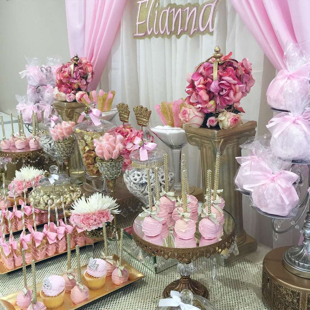 Princess Baby Shower Party Ideas Baby Shower Princess Fancy