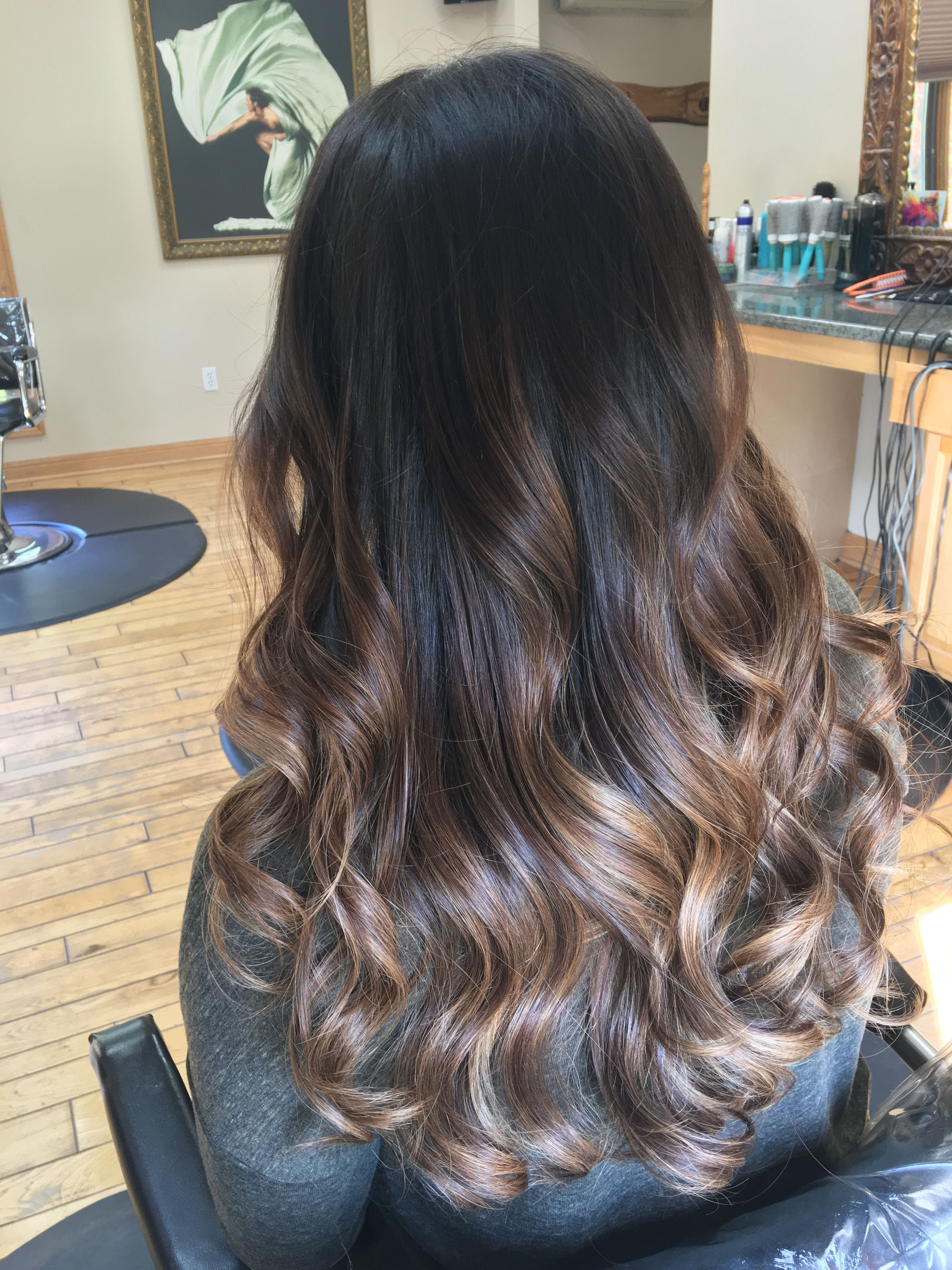 Top Shocking Balayage For Dark Hair - Trend Today : Your #1 source for the latest trends, exclusives & Inspirations