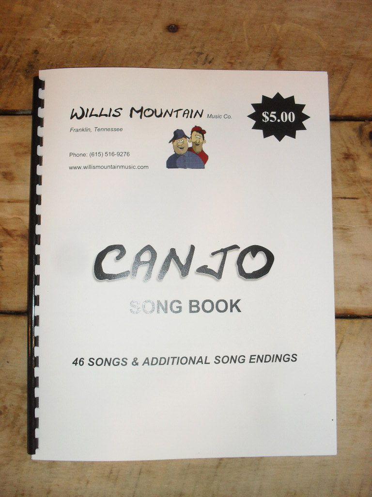 Canjo Songbook - 46 Songs plus alternate song endings.  Paperback.  Spiral bound.