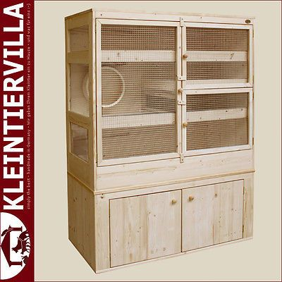 VillaDHWrat Chinchillas Degus Ferrets wood birdhouse