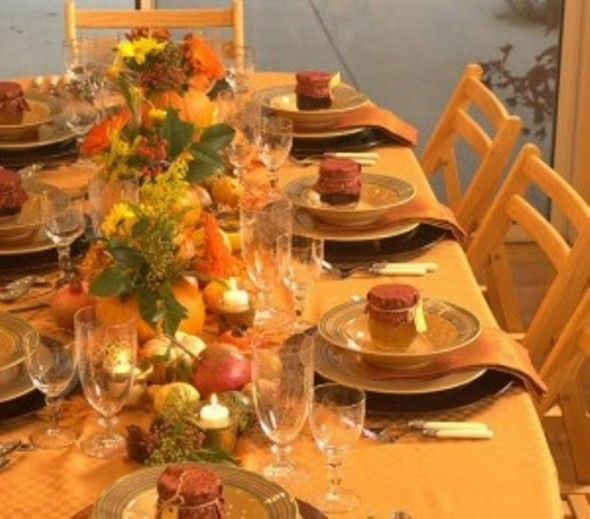 decorate table dining room for thanksgiving dinner thanksgiving dining room decorating ideas 590x519 & decorate table dining room for thanksgiving dinner thanksgiving ...