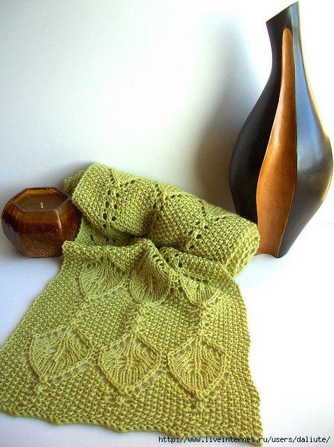 Grasshopper Scarf Free Knitting Graph Pattern Knitting Pinterest