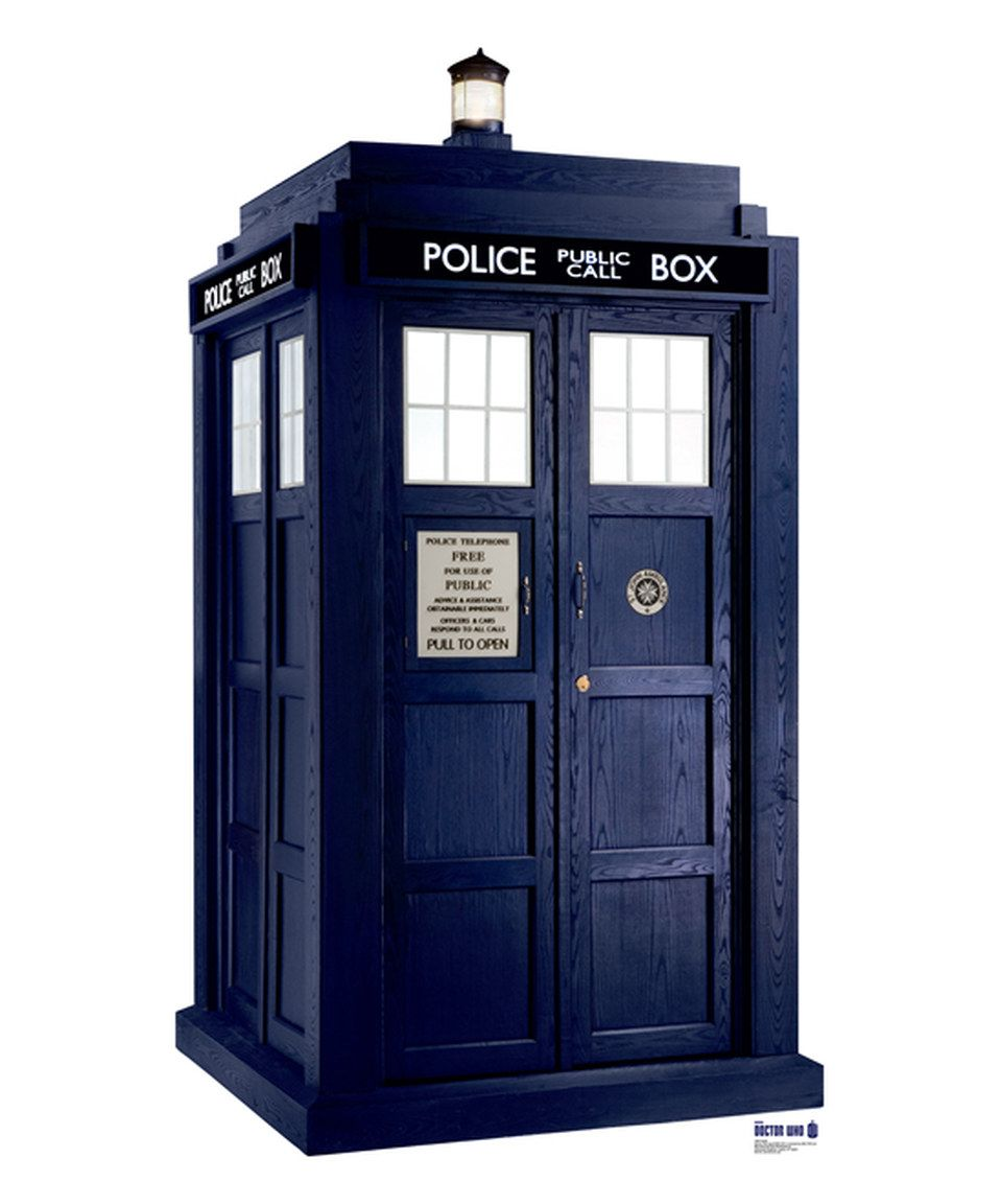 This Doctor Who: Season Six Tardis Stand-Up Cutout by Advanced Graphics is perfect! #zulilyfinds