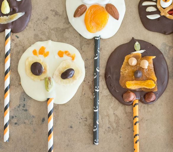 Halloween Trailmix Lollies! These are a hit with kids!