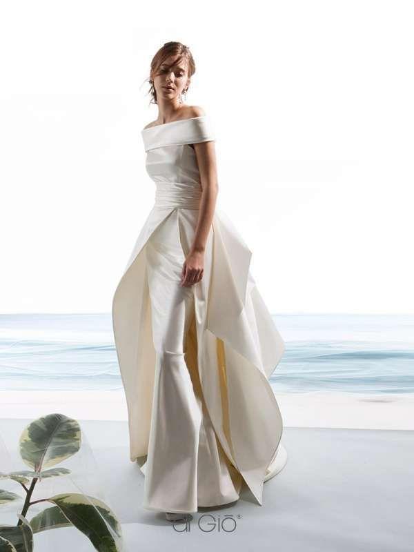 Abiti da sposa le spose di gi 2017 abito in mikado wedding nel 2019 marie jeune - Abiti da sposa dive e dame ...