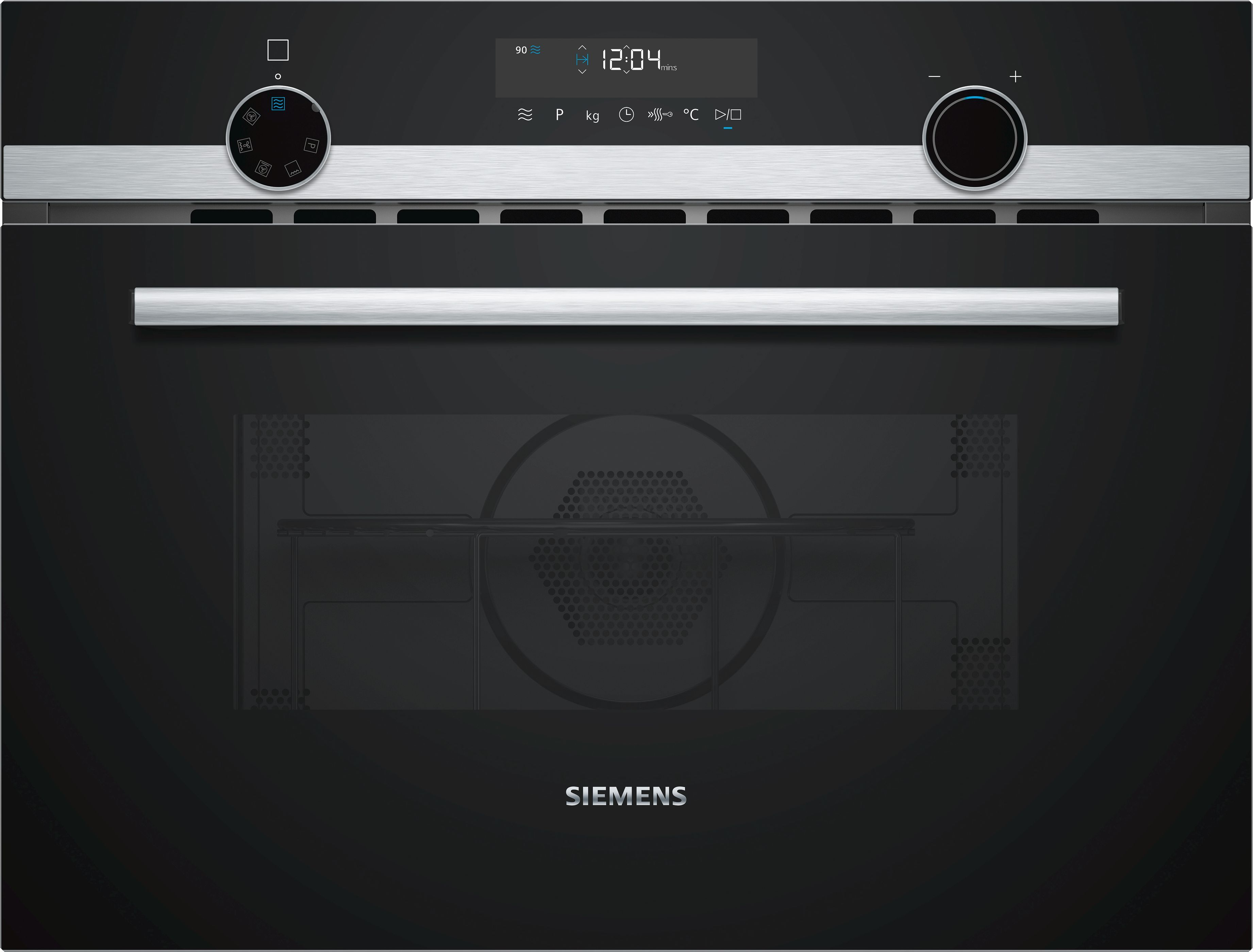 Built-in Microwave With Hot Air Function Brand Class Iq500 - Cm585ams0b Siemens