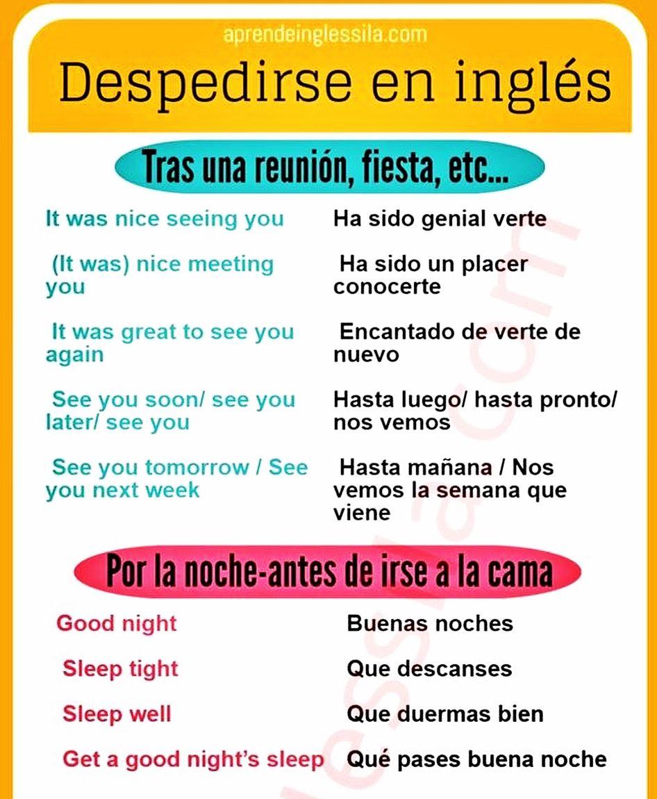 Aprende A Despedirte En Inglés Elinglesdesila Silaingles Expresiones Learnenglish Vocabulary Despedirse Learn English English Resources English Time