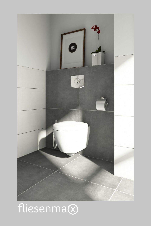 Ideen Fur Dein Gaste Wc Gaste Wc Betonoptik Badezimmer Einrichtung