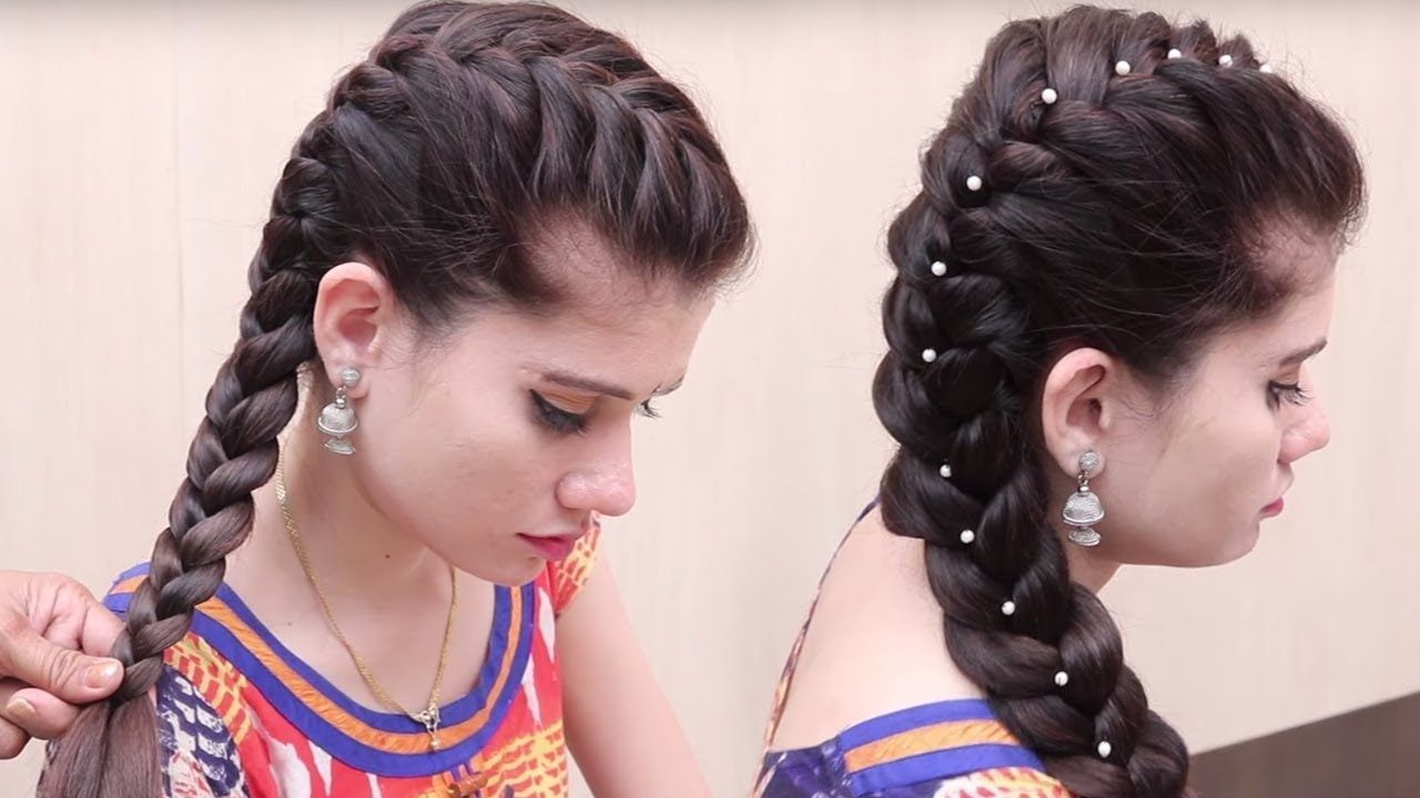 Easy hairstyle for occasion beautiful hairstyles for function