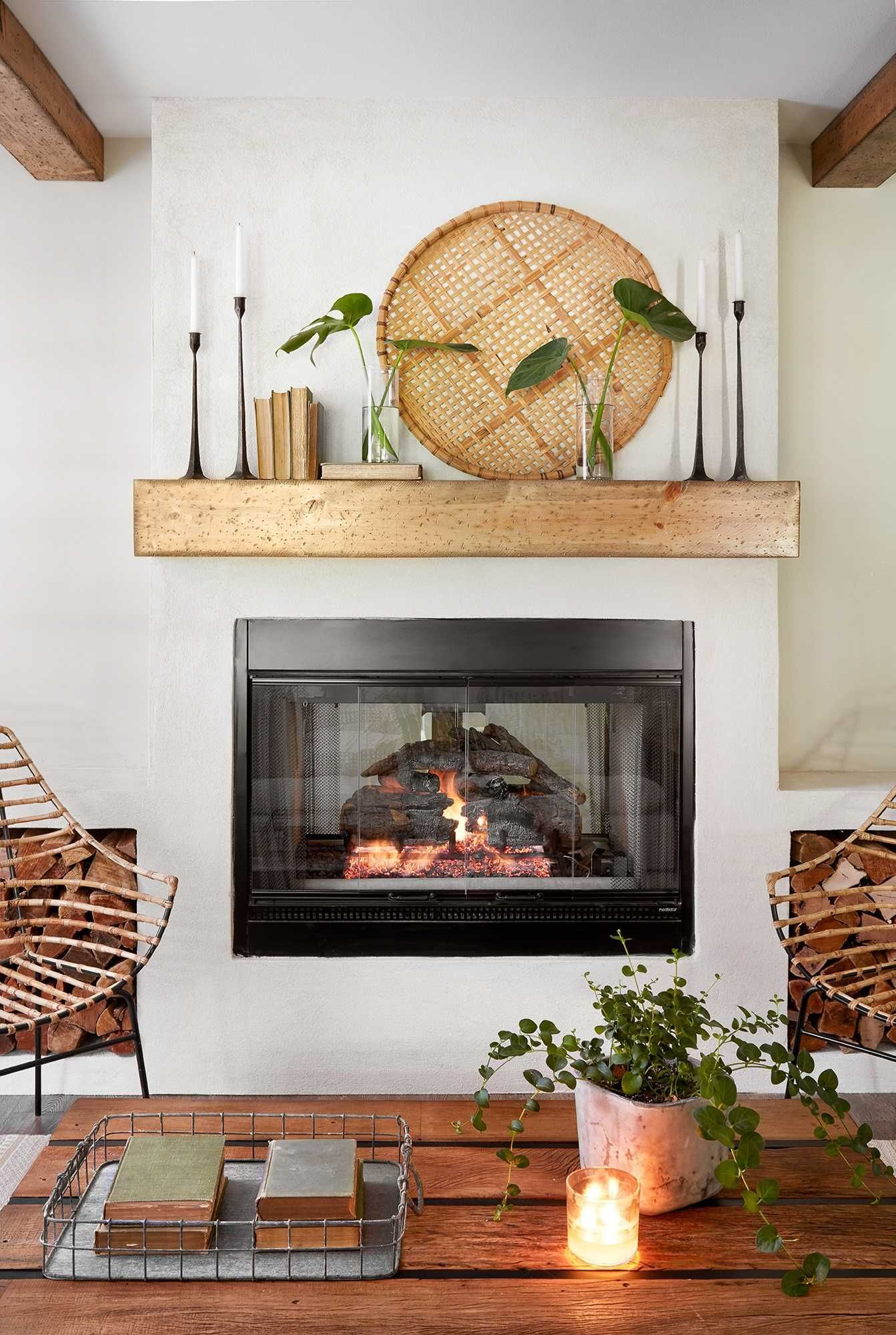 Excellent options for DIY Fireplace Designs #newhouseoptions