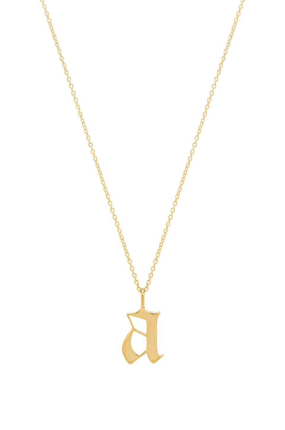 The Old English Pendant in Metallic Gold The M Jewelers NY tj8QS