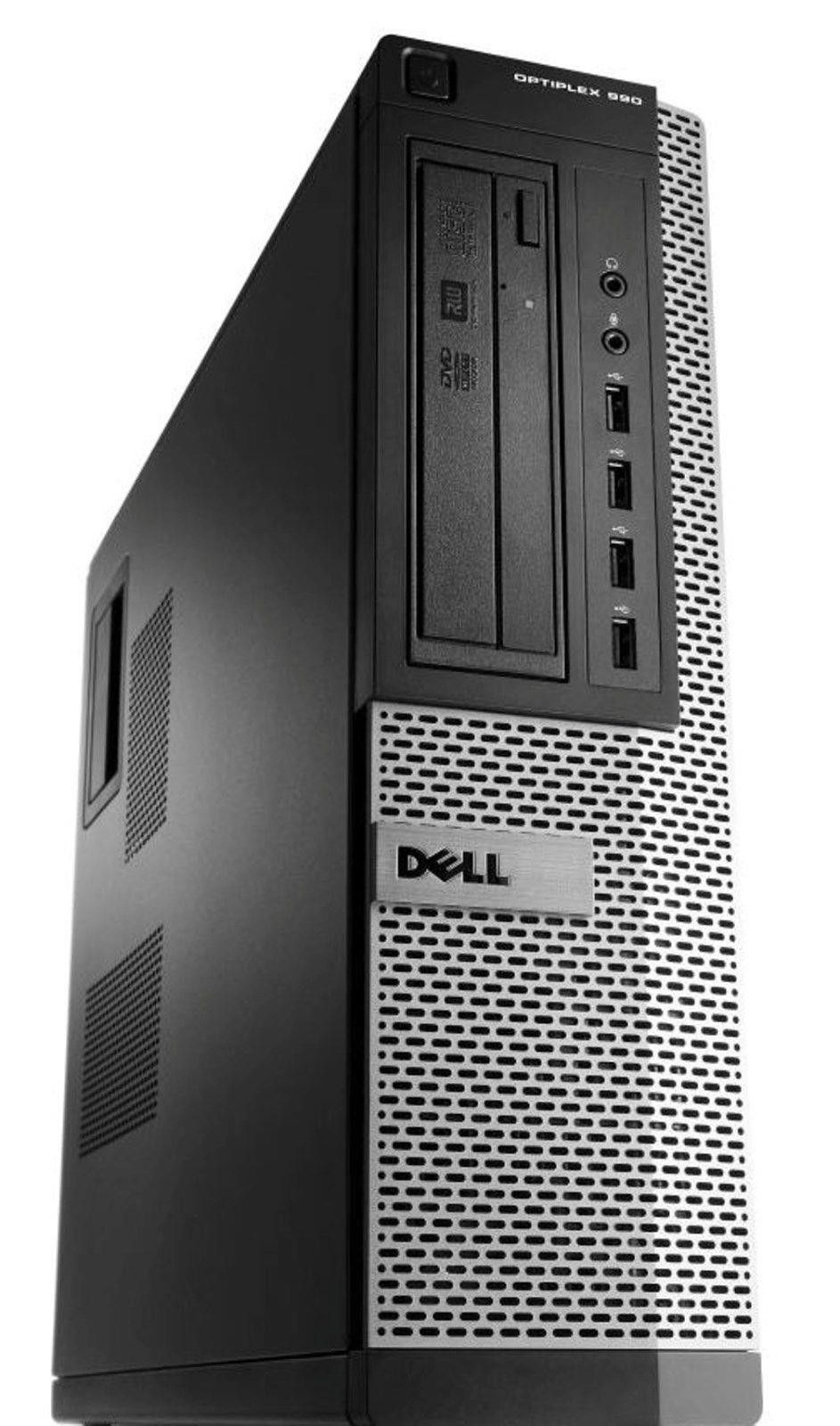 Dell Optiplex 990 Intel i5 Quad Core 3300 MHz 4GB Mem 160GB HDD