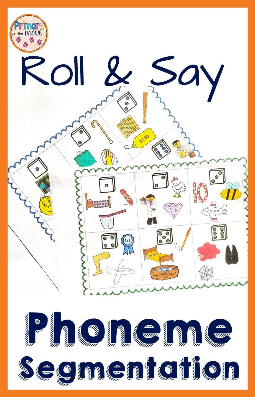 Phoneme Segmentation Worksheets For Kindergarten