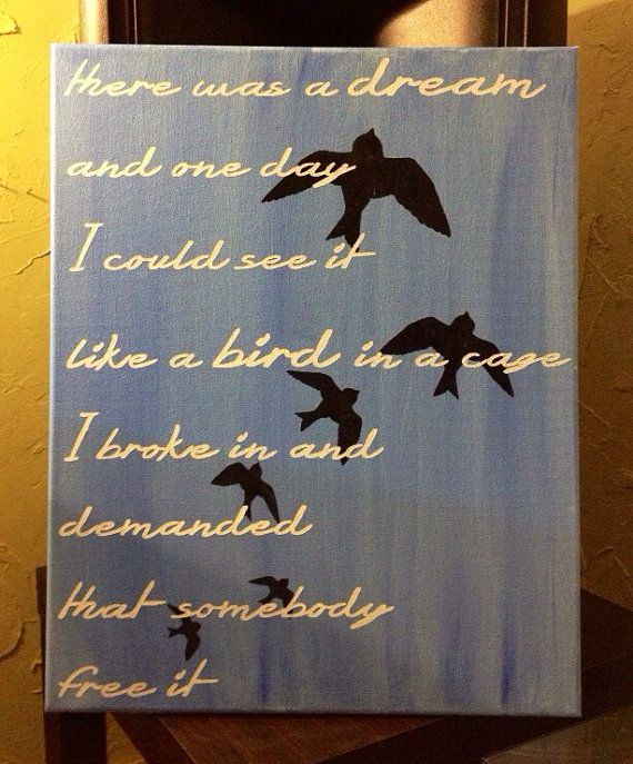 There Was A Dream Avett Brothers Lyrics 16x20 On Etsy 42 50