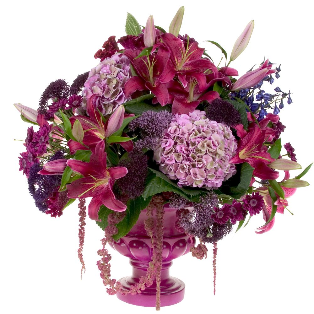How-to video demonstration for a gorgeous autumn urn floral ...