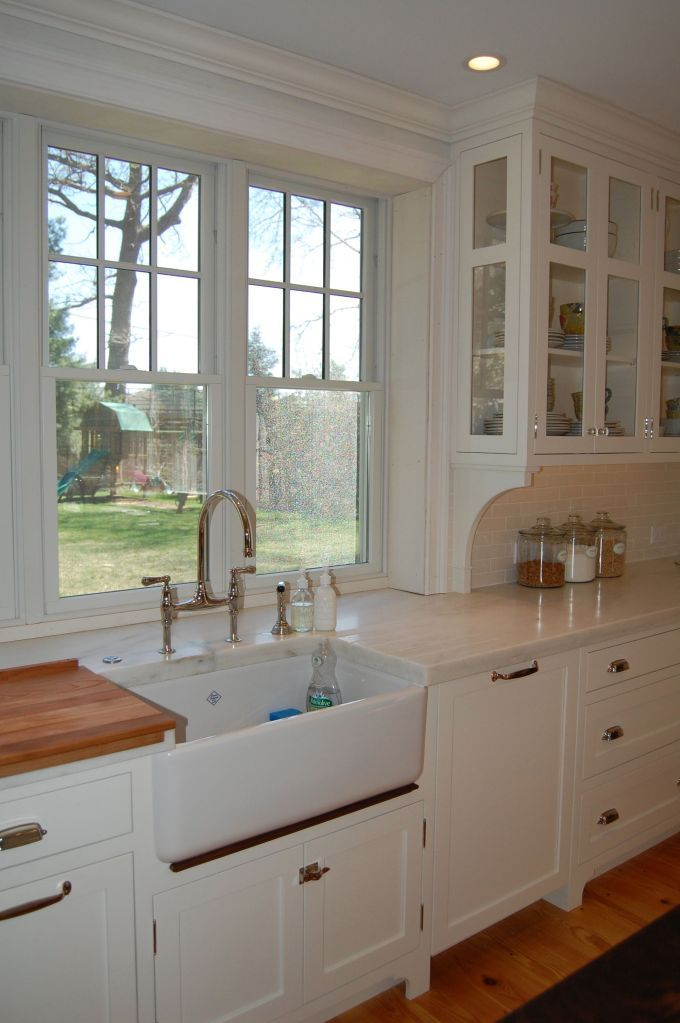 kitchen cabinets with glass uppers walnut trim sink corbels cabinets 21419