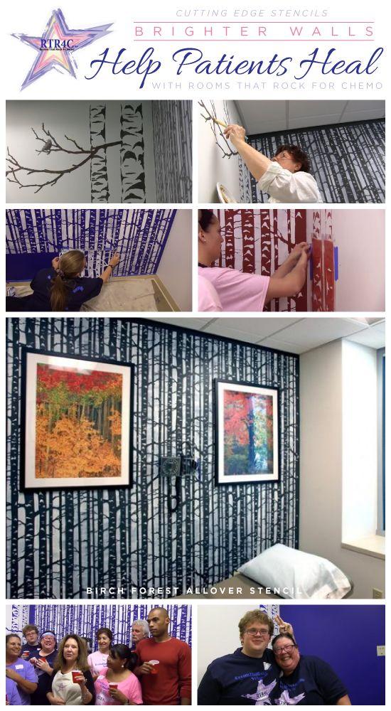 Chemotherapy Room Design: Brighter Walls Help Patients Heal