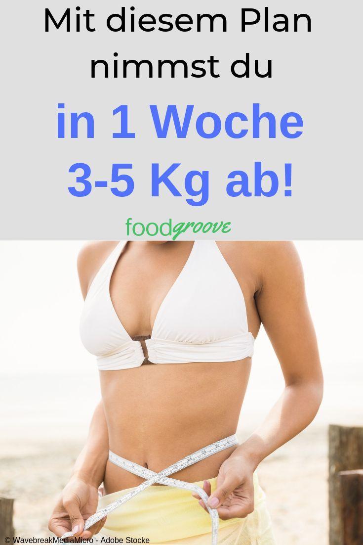 Abnehmen in einer Woche 1 Kilogramm