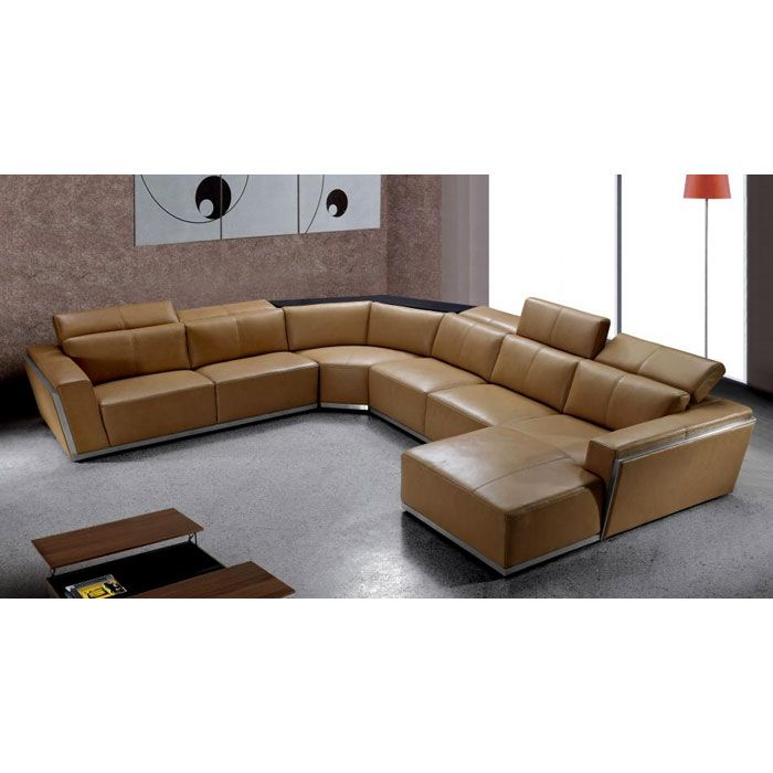 Tempo Leather Sectional Sofa With Chaise Sectional Sofa With Chaise Modern Leather Sectional Sofas Leather Sectional Sofa