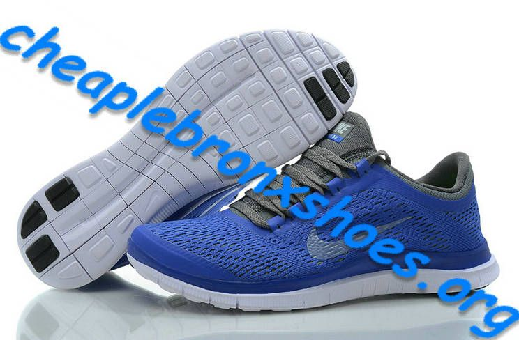 info for 7fe05 1d2a1 Royal Blue Carbon Gray Nike Cheap Free 3.0 V5 Womens Shoes 552392 510