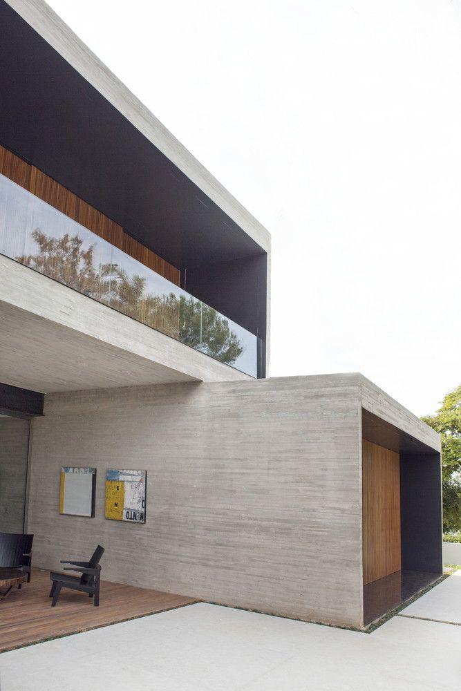 Gallery Of Cubes House / Studio [+] Valéria Gontijo   7 | Fassaden,  Terrasse Und Moderne Häuser