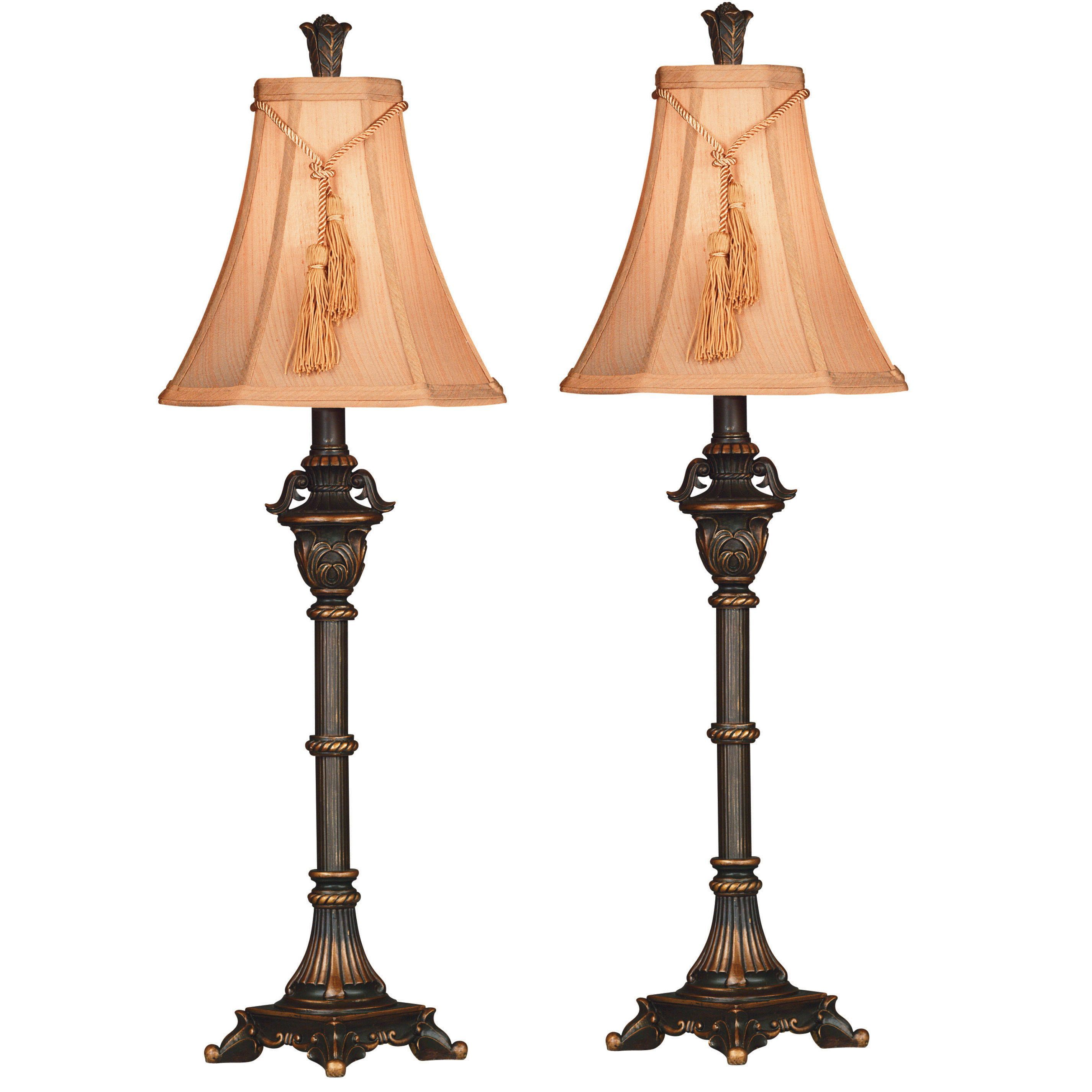 Coolidge buffet lamp set of 2 by design craft room lamp coolidge buffet lamp set of 2 by design craft geotapseo Choice Image