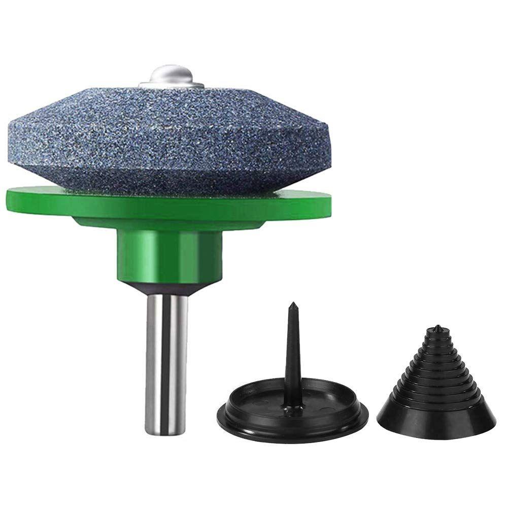 Garden Tools Cuts Lawn Mower Rotary Drill Grinding Universal Sharpener