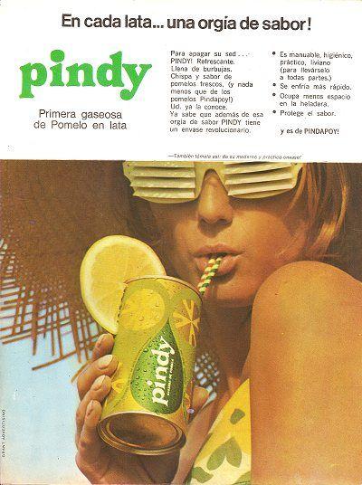 Pindy pomelo   Soda- Soft Drinks - Pop #AmarcordBrazil in