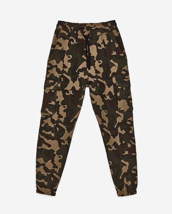 Zara army hose