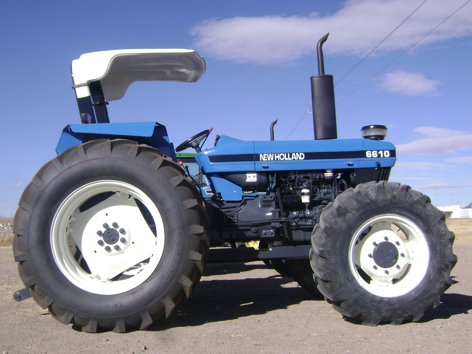 tractor new holland | Tractor New Holland 6610 DT por $18,500 Dlls cgu