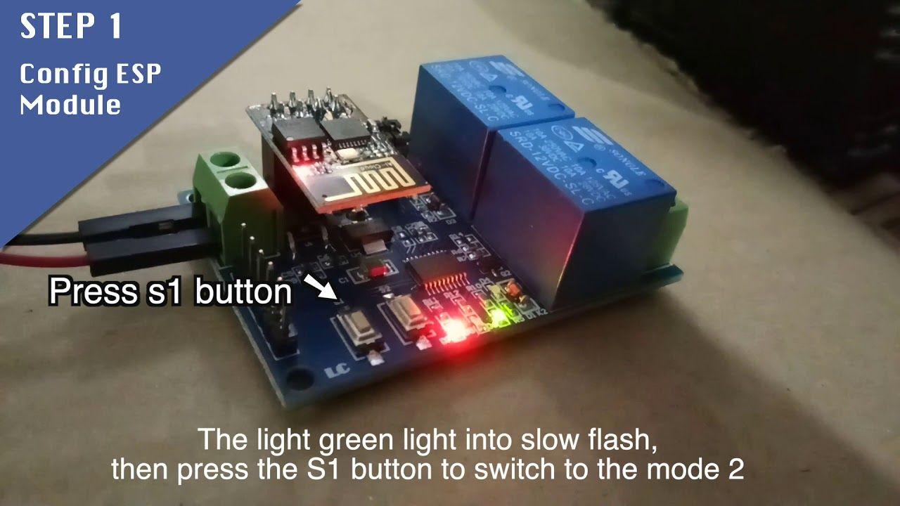 ICStation com ESP8266 Wifi Relay control (No Coding Required