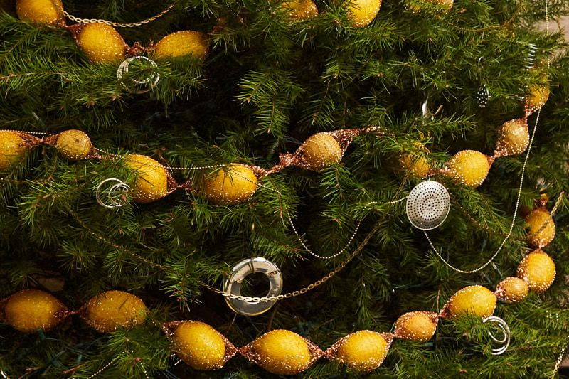 Christmas Tree Decorating Ideas From The Hardware Store Christmas Tree Decorations Christmas Tree Christmas