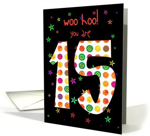 15 Year Old Card Cards Pinterest 15 Years Card Ideas And Cards