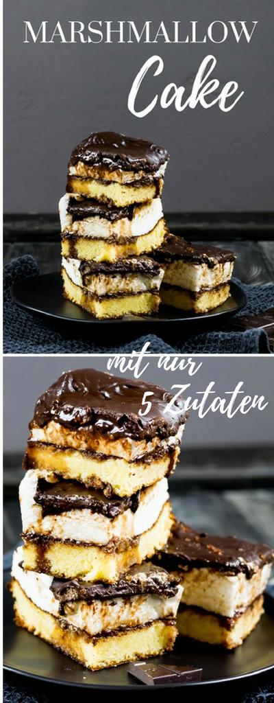 marshmallow cake bester kuchen mit 5 zutaten lecker pinterest kuchen marshmallow kuchen. Black Bedroom Furniture Sets. Home Design Ideas