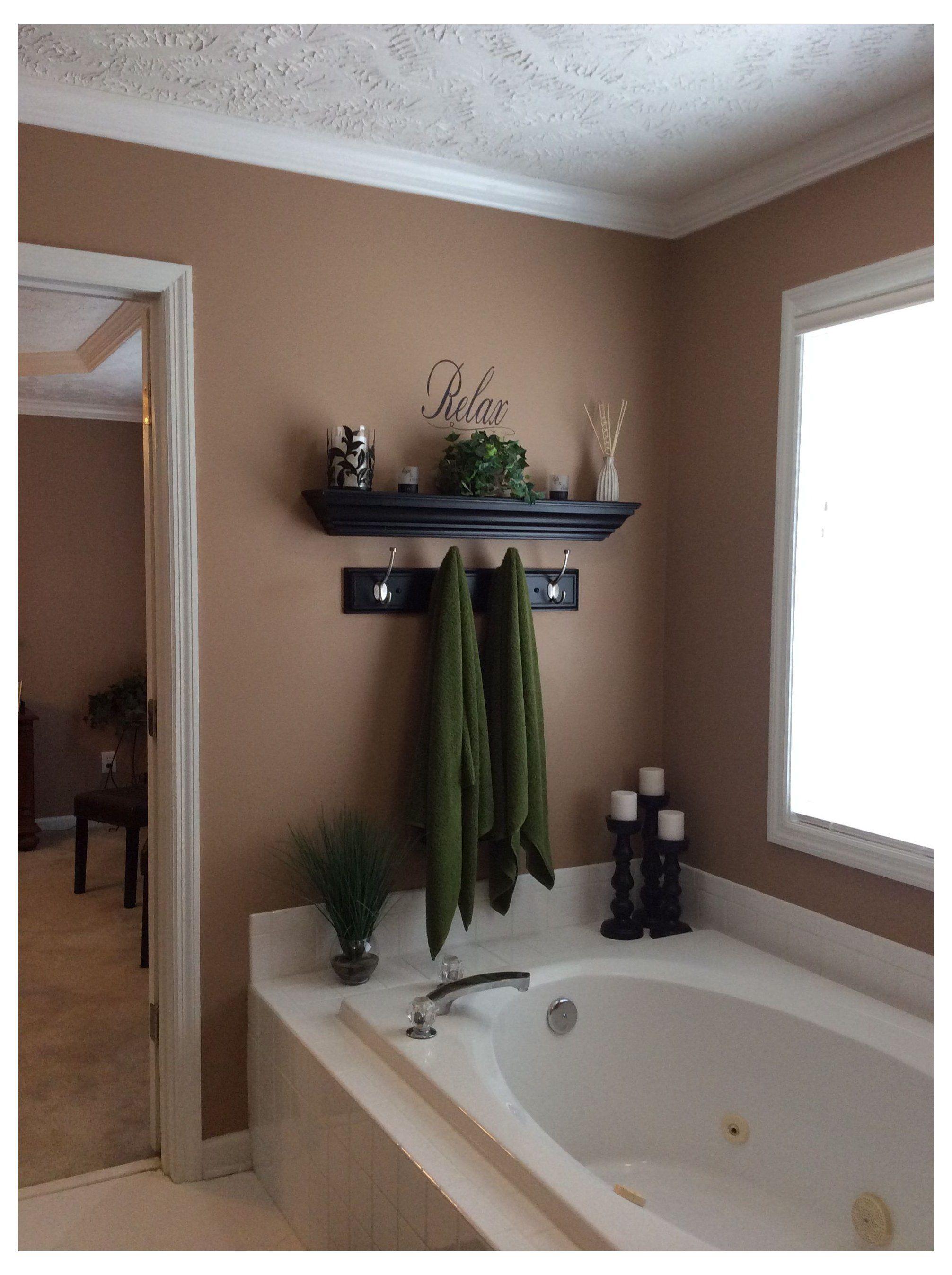 Garden Tub Decor Master Bath Corner Garden Tub Wall Decor Restroom Decor Bathtub Decor Bathroom Decor