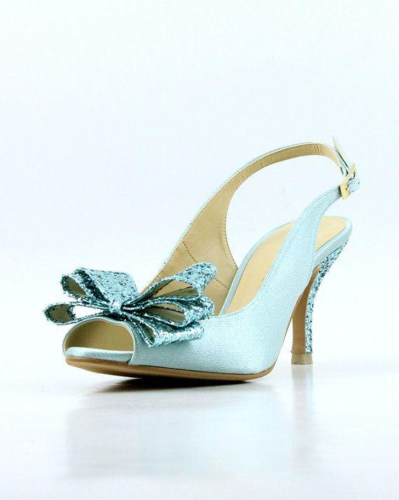 Something Blue Wedding Shoes, Powder Blue Wedding Shoes, Light Blue ...