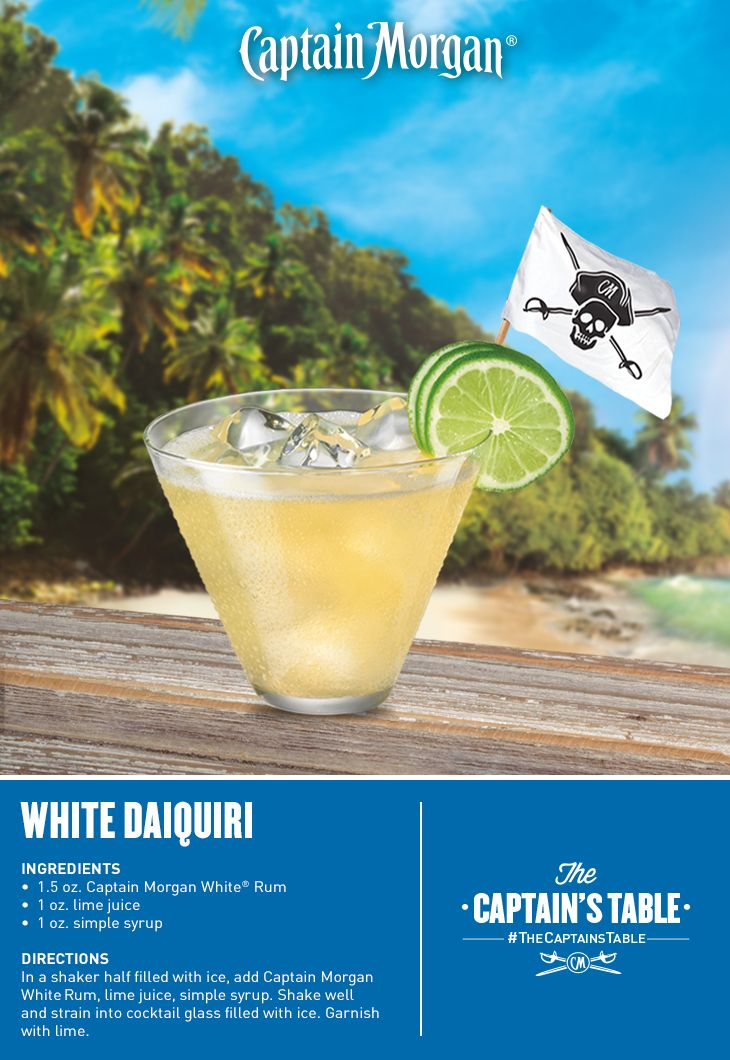 Welcome To Paradise White Rum Makes This Classic Cocktail