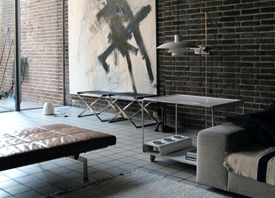 Home Of Danish Architect Industrial Designer Knud Holscher Interior Design Home Interior Design Inspiration