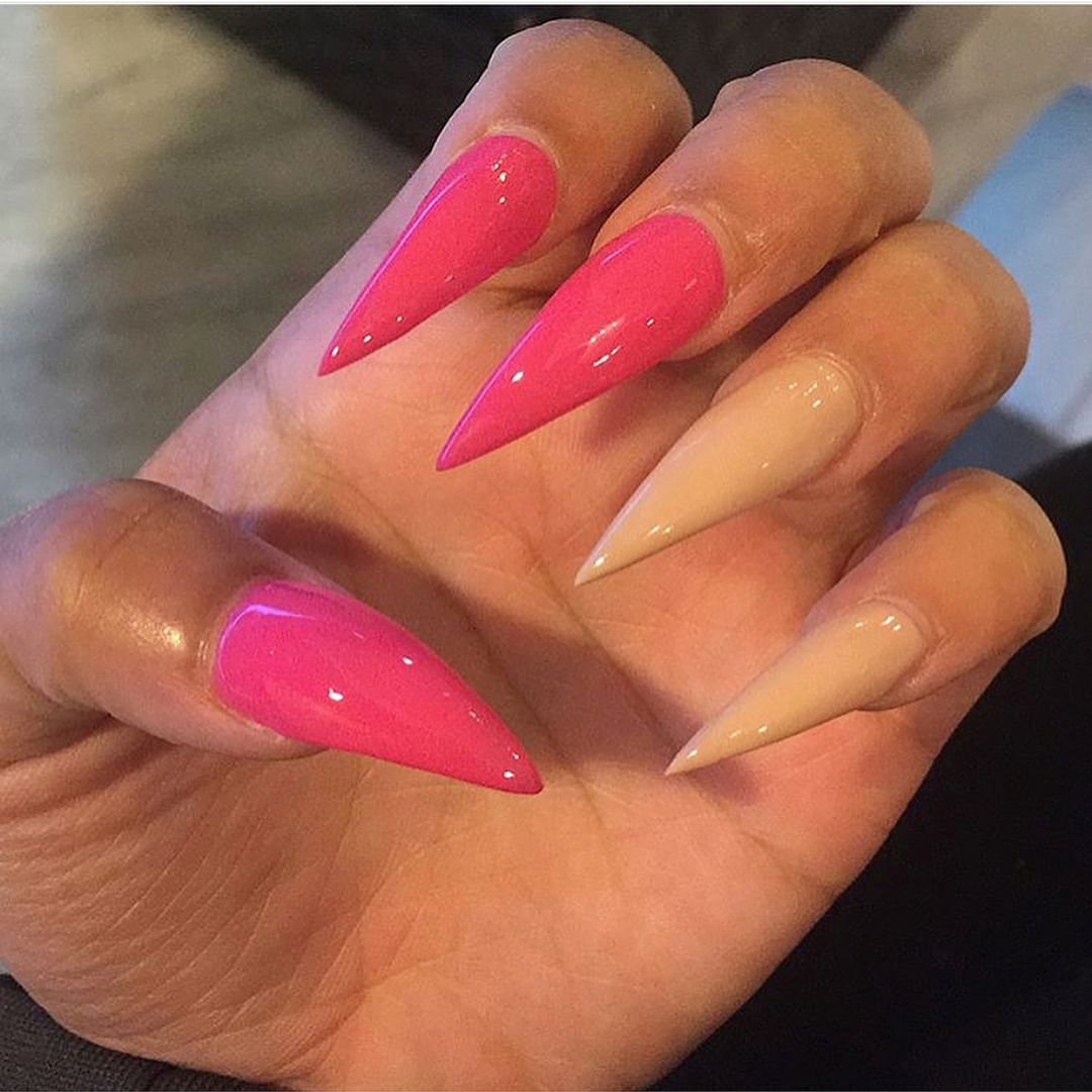Image may contain one or more people and closeup   Nails, Nail ...
