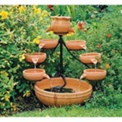 Macetas para plantas acuaticas buscar con google - Fuentes y cascadas de agua para jardin ...