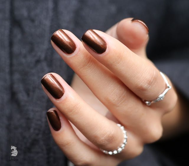 The Coolest Nail Trends To Try This Fall Nail Polish Brown
